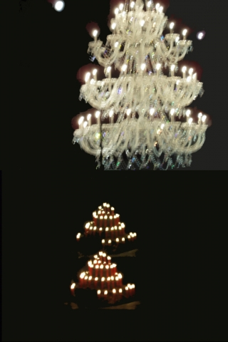 bella chandelier, travelogue series